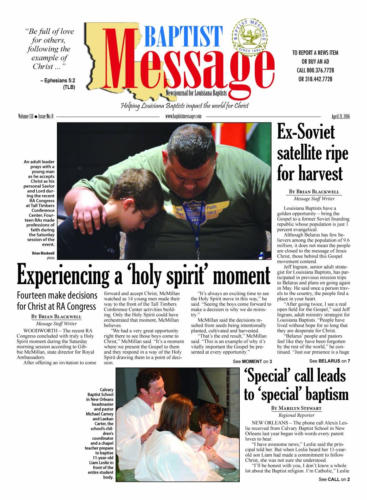 April 21 Page 1