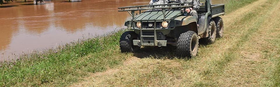 Louisiana National Guard supports Spring Flooding 2015
