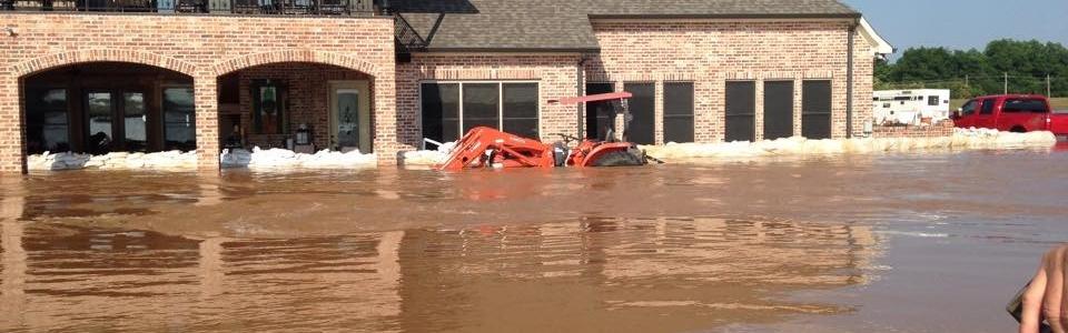 Flooding in Bossier City