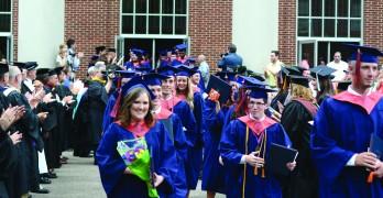 Louisiana College, seminary students with Louisiana ties graduate
