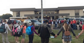Students turn out for See You At The Pole