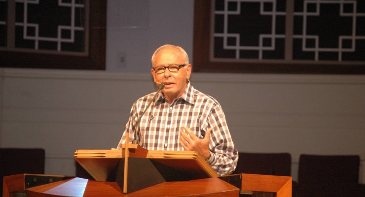"""""""For the first time, we are facing amazing persecution in America,"""" said Lowery, who retired in 2004 after serving as pastor of First Bossier for more than 30 years."""