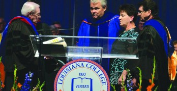 LC inaugurates Brewer as its ninth president