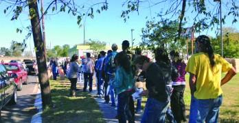 Food distribution event at NOLA Baptist clinic draws huge crowd