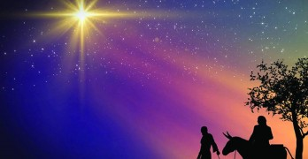 Christmas greeting from Heaven: do not be afraid