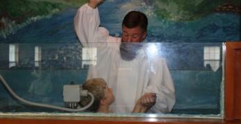 Canaan Baptist celebrates six consecutive Sundays of baptisms