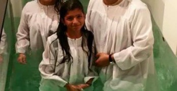Iglesia Gracia Y Restauracion in Kenner baptism