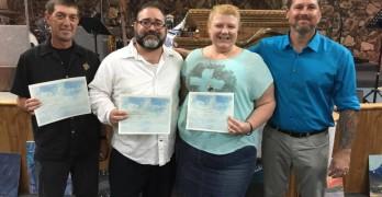 Baptisms at Revival Life Church