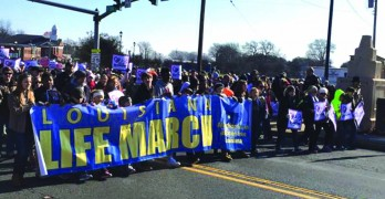 Despite cold, thousands march at 3rd annual Louisiana Life March North