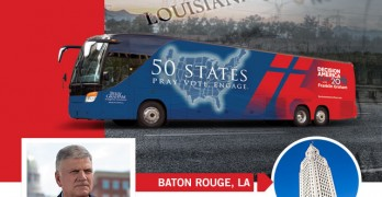 Franklin Graham's Decision America Tour coming to Baton Rouge Jan. 13