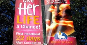 Louisiana Right to Life: Call to remove pro-life streetlight banners is unjustified