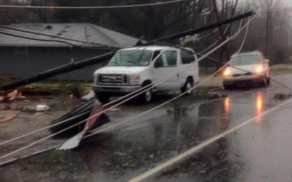 Livingston Parish Sheriff Storm Damage