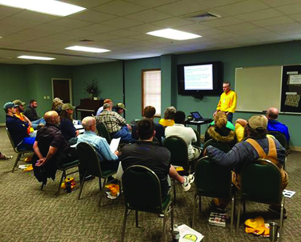 The urgent need for trained volunteers has led the LBC's Louisiana Baptist Disaster Relief to offer five training classes around the state. At Temple Baptist Church in Ruston got 134 volunteers trained foo mud-out and debris removal work.