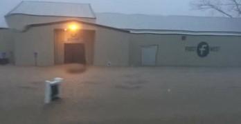 This week's flooding impacting some Louisiana Baptist church facilities