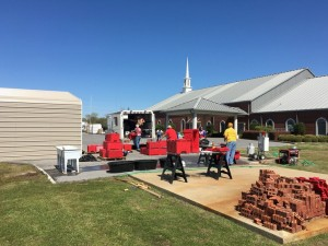 First Baptist Church Sterlington has given way to units from Oklahoma Baptist Relief and can return to just ministry, after serving 12 days for relief operations. Photo by Ben Hackler