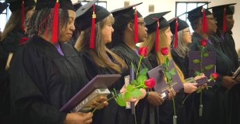 13 incarcerated women receive milestone degrees