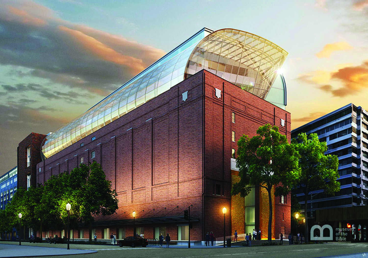 The Museum of the Bible, a 430,000 square-foot facility, is  due to open in 2017 in Washington, D.C.