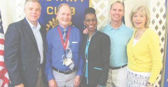 "Franklinton layman given Natchitoches Rotary's ""Service above Self"" award"
