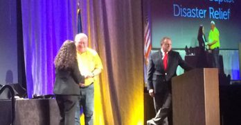 National award recognizes Southern Baptist Disaster Relief