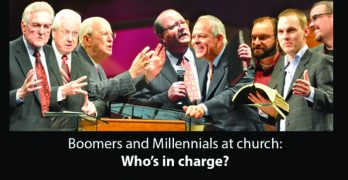 Boomers and Millennials at church: Who's in charge?