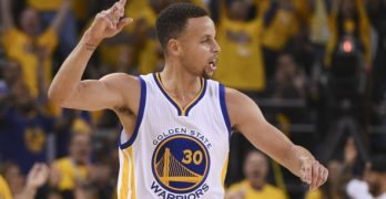 Stephen Curry thanks God 'for talents He's given me' in accepting 2nd straight MVP