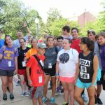 A youth group from Arcadia Baptist Church, which is located near Shreveport, was among a number of Louisiana churches that came to Mississippi College for a five-day FUGE camp which combines sports, worship time, Bible study & fellowship.