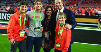 Clemson head coach faces Father's Day of memories