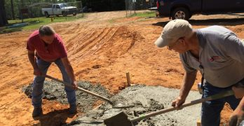 Volunteers working to make Georgia Barnette Conference Center a home for missions education, training