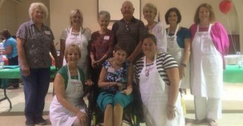 Paralyzed jewelry maker provides inspiration for women during Christmas in July at Florida Boulevard Baptist Church