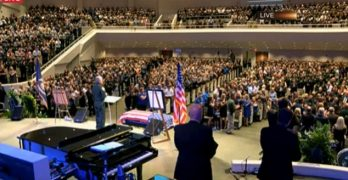 Many accept Christ during funeral for fallen East Baton Rouge Sheriff's deputy at Istrouma Baptist Church