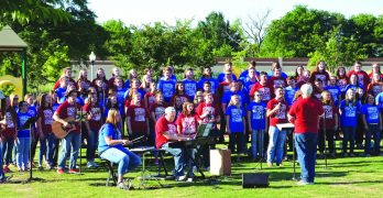 All-state choir ministers  through more than song