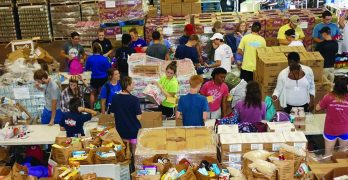 LC students assist Food Bank of Central Louisiana