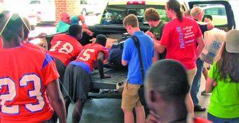Louisiana College freshmen move-in day Saturday