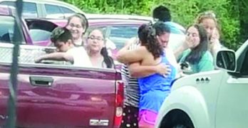 From near tragedy to jubilation, families rejoined after being separated