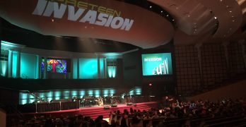 Youngsters reminded at PreTeen Invasion to find joy in Jesus