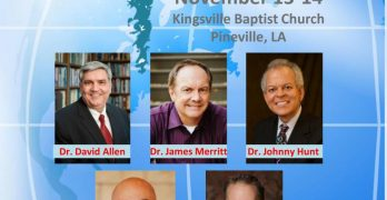 Pastors Conference to stress urgency to reach culture with Gospel