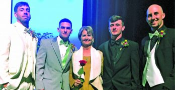 Four LC athletes trade diamond for a runway to battle cancer