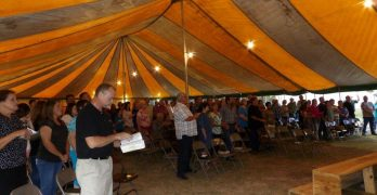 Pitkin community witnesses Holy Spirit-filled tent revival