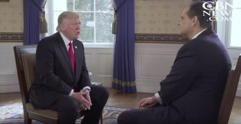 VIDEO: Trump opens up about God's influence in his presidency