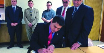 Articles of incorporation for first pregnancy care center in central Louisiana signed