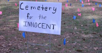 Cemetery for the Innocent at LC brings to light the plight of the unborn