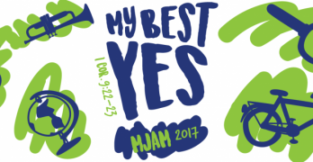 High-energy M-JAM challenges kids to give their 'best for Jesus'