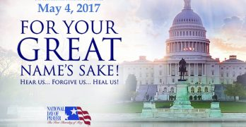 Prayer takes center stage in state, nation May 4