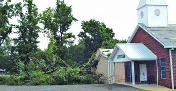 Violent weekend storms rake Louisiana yet again