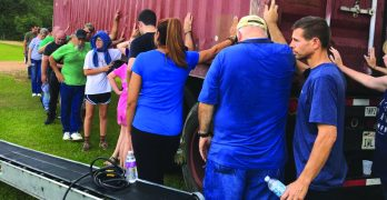 God's provision never ceases to amaze Fairhaven's Huffman
