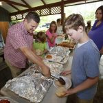 First Baptist Ruston celebrates summer, baptisms at annual picnic