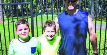 Baptisms strengthen bond between young friends