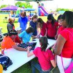 Alexandria schoolyard is a fertile field for the Gospel