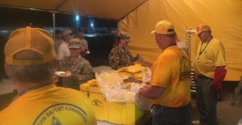 746 SBC churches flooded in Texas,  LBC disaster relief teams ready to respond