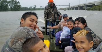 Denham Springs church teams up with Cajun Navy for boat rescues of nearly 200 in Texas